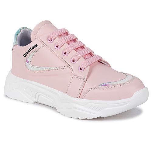Creattoes Women & Girls Running Sports Shoes Walking Gym Sneakers