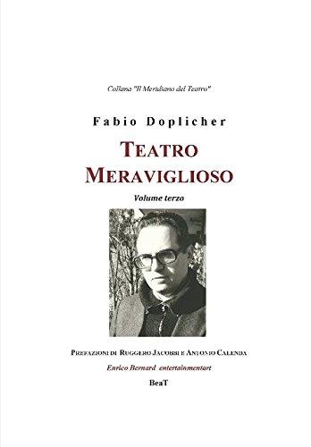Teatro Meraviglioso I volume I Italian Edition