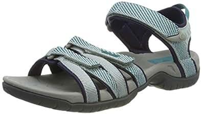 Teva Women's W Tirra Sport Sandal, Hera Gray Mist, 5.5 Medium US