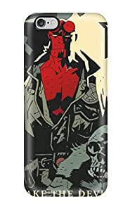 Imogen E. Seager's Shop Christmas Gifts GK6RLY5NRPTF5R6X Durable Protector Case Cover With Hellboy Poster Comics Anime Comics Hot Design For Iphone 6 Plus