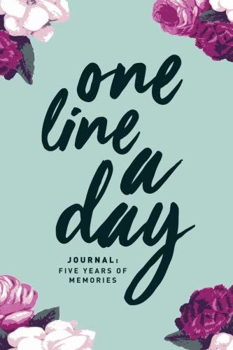 One Line A Day Journal: Five Years of Memories, 6x9 Diary, Dated and Lined Book, ()