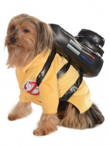 Ghostbuster Pet Costume - Medium]()