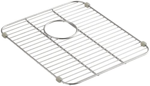 Kohler K-6388-ST Stainless Undertone Steel Sink Rack, 13.87 x 15.18