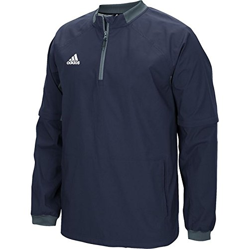 Adidas Mens Fielders Choice Convertible Jacket Coll Nvy / Onix