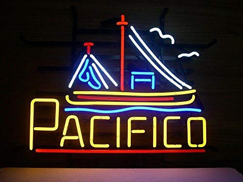 Large Rare Pacifico Beer Neon Sign Display Store Beer for sale  Delivered anywhere in USA