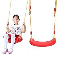 LYXCM Columpio Bebé, Asiento De Columpio para Niños para Jardín con Cuerdas Ajustables Incluidas Ideal para Juegos De Columpios Y Marcos De Escalada: Amazon.es: Deportes y aire libre
