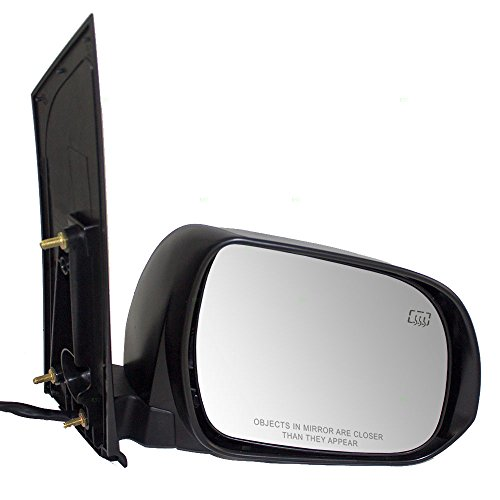 Passengers Power Side View Mirror Heated Replacement for Toyota Van 87910-08094-C0 (Power Heated Van Mirror)