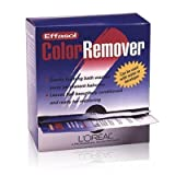 L'Oreal Effasol Color Remover, Leaves Hair Ready for Recoloring, 1 Packet