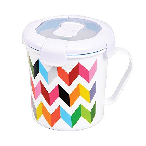 French Bull 23 oz. Soup Mug - Food Storage - Lunch, Travel, Airtight - Ziggy