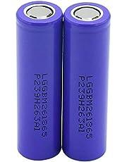 2 قطعة من M26 3.6 فولت و2600 مللي امبير في الساعة، بطارية 10 امبير لانبوب التدخين اي في، والسجائر الالكترونية، والدراجات الكهربائية والسكوتر الكهربائي