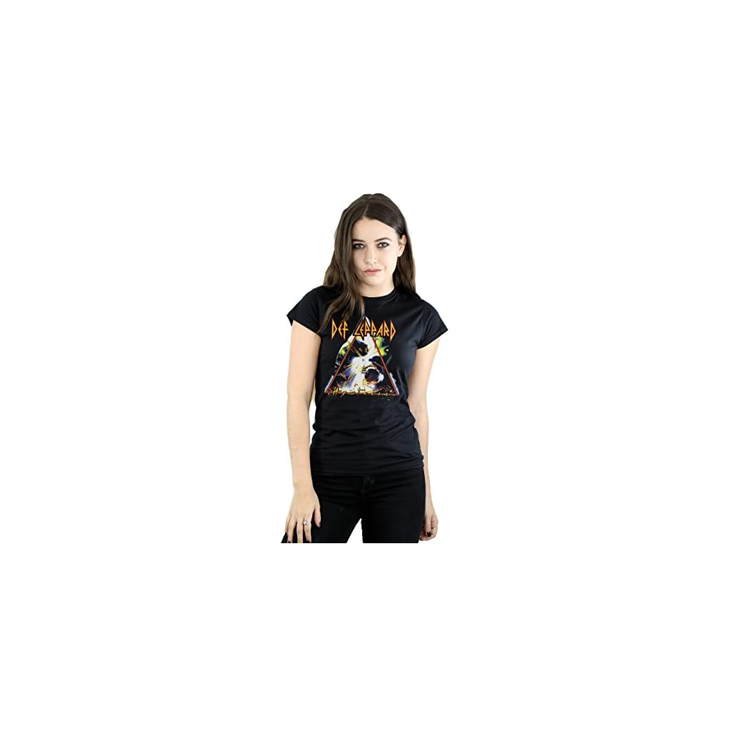 Def Leppard Mujer Hysteria Cover Camiseta
