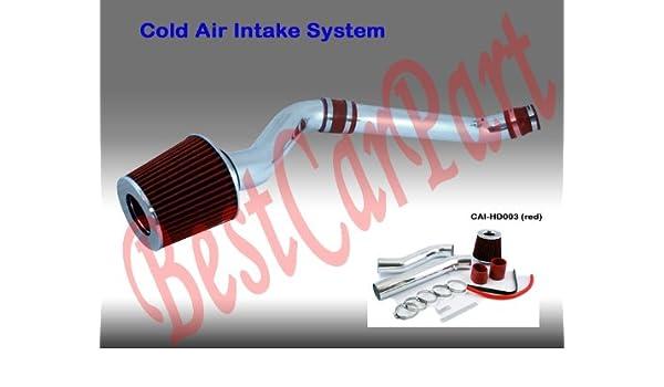 Amazon.com: 92 93 94 95 Honda Civic DX LX EX Cold Air Intake ... on