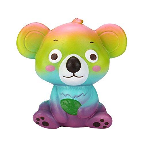 Lanhui Exquisite Cute Squishy Charm Slow Rising Soft Simulation Kid Fun Toy Gift - Koala Shape