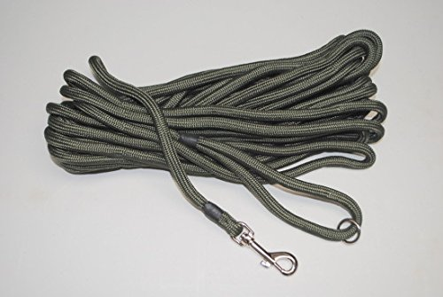 Dog & Field 2in1 10 Meter Training/Exercise Dog Lead - Super Soft Braided Nylon 2