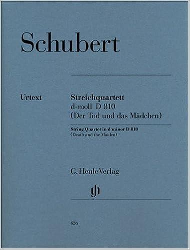 Amazon com: Schubert: String Quartet in D Minor, D 810