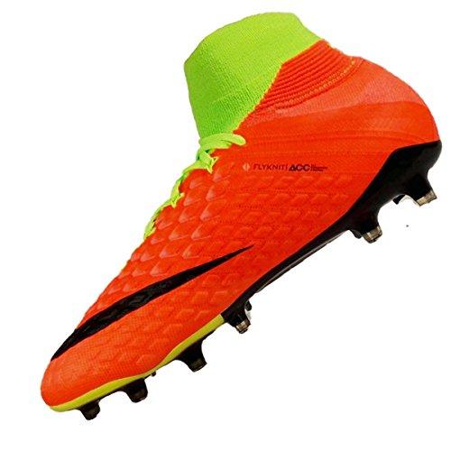 Nike 860643-308 | Hypervenom Phantom Iii Fg Voetbalschoenen Groen (elektrisch Groen / Zwart / Hyper Oranje)