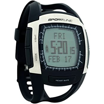 Sportline 670 Cardio Connect Mens Heart Rate Monitor With Speed and Distance Tracking