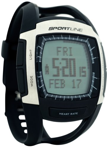 Sportline 670 Cardio Connect Men's Heart Rate Monitor With Speed and Distance Tracking