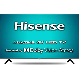 Hisense 146 cm (58 inches) 4K Ultra HD Smart Certified Android LED TV 58A71F (Black) (2020 Model) | With Dolby Vision…