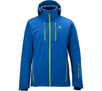 e5a7abdcddcb Salomon S-Line 3 1 Jacket M - Union Blue   Big Blue-X - L - Mens waterproof  insulated climaPro® 3in1 ski and snowboard jacket  Amazon.co.uk  Sports    ...