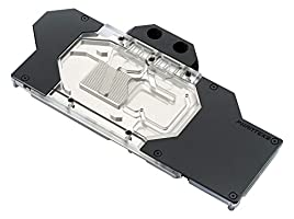 Phanteks PH-GB2080FE_BK01 RTX 2080 Founder Edition Acrylic Cover RGB Lighting Full Water Block Satin Black