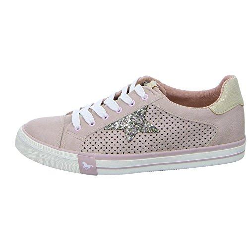 Sneakers Rose Rot Low 555 Damen Top 309 1146 555 Mustang 1qv8Yn