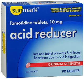 Sunmark Acid Reducer 10 mg Tablets - 90 ct, Pack of 2