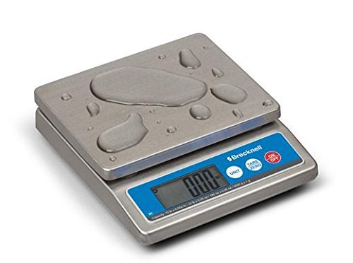 Brecknell Washdown IP67 Stainless Portion Control Scale 5000 g/ 10 LB NSF approved Brand NEW ()