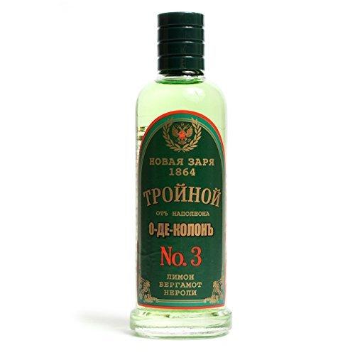 Russian Eau De Cologne - Triple Eau de Cologne for Men 2.87 fl oz/85 ml