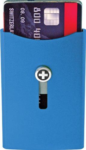 Wagner Super Slim Wallet, Blue SW703, One Size