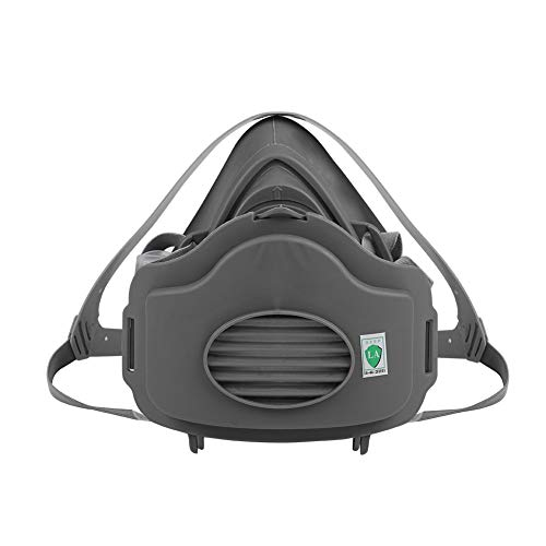 (Dust Mask Anti-dust Respirator Anti Industrial Construction Pollen Haze Poison Gas Family & Professional Site Protection(1#))