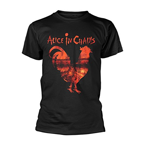 Alice in Chains Rooster Dirt Layne Staley Rock Official Tee T-Shirt Mens Unisex -