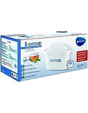 BRITA Filterkartuschen MAXTRA+ im 6er Pack – Kartuschen für alle BRITA Wasserfilter zur Reduzierung von Kalk, Chlor & geschmacksstörenden Stoffen im Leitungswasser