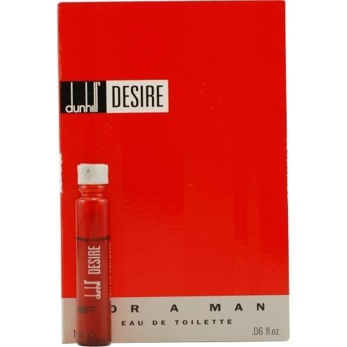 DESIRE by Alfred Dunhill EDT VIAL ON CARD MINI
