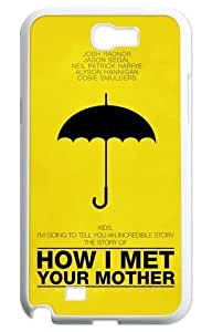 chen-shop design Samsung Galaxy Note 2 N7100 Cover Case (How I Met Your Mother) high XXXX