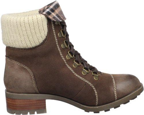Skechers Lunacy Sequoia 47518 CHOC - Botas de ante para mujer Marrón (Braun/Choc)