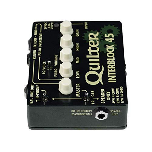 Quilter InterBlock 45 45-Watt Guitar Amplifier/Preamp Pedal by Quilter (Image #4)