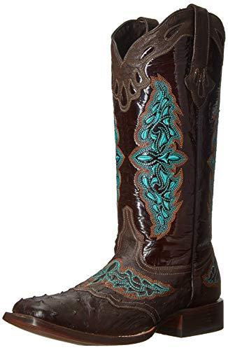 (Lucchese Bootmaker Women's Amberlyn Western Boot, café , 10 B US)