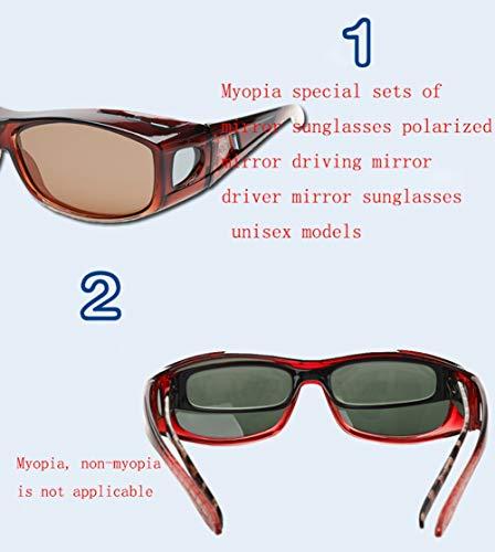 Espejo De 4 De Polaroid Espejo Gafas Unisex Libre Aire Deportes Conducción Gafas Al WJYTYJ Controlador De Sol Moda zx6wnTz