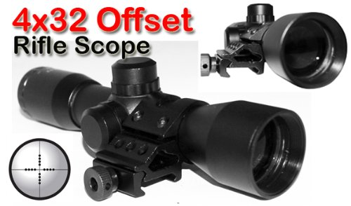 Trinity Offset 4x32 Scope for tactical paintball markers (Paintball Offset Hopper)