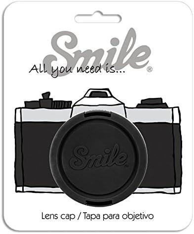 La Nuit Black Smile 55mm Lens Cap