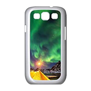 Samsung Galaxy S3 I9300 Northern Lights Phone Back Case Customized Art Print Design Hard Shell Protection DF036044