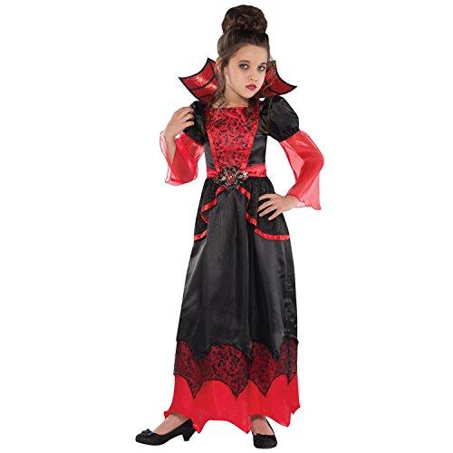 Girls Vampire Queen Costume - Medium (8-10) ()