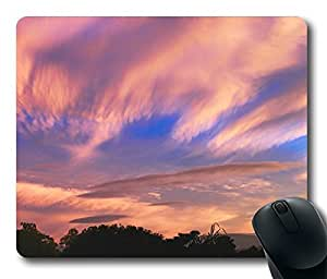 Orange Sky 5 Cool Comfortable Gaming Mouse Pad