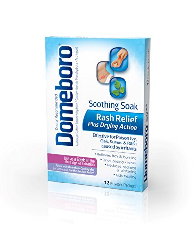Domeboro Astringent Solution Packets, 12-Count (Pack of 3)