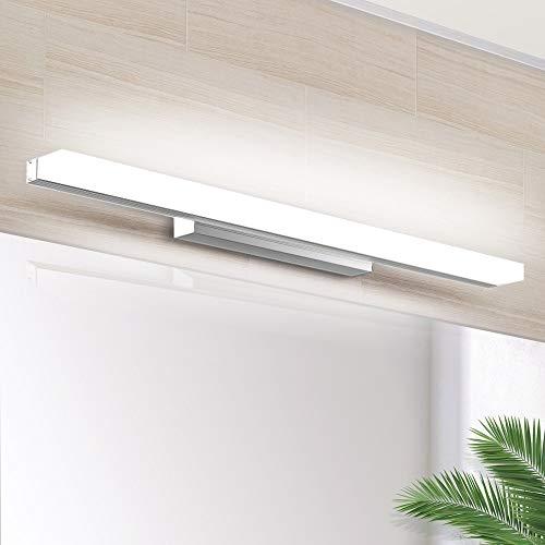 LED Spiegellamp 40cm, SOLMORE make up licht badkamerlamp wandlamp IP44 Waterdichte badkamerlamp voor badkamer- en…