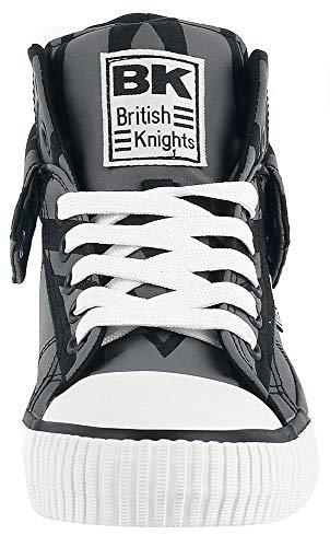 Hautes Jack Black Grey Homme Bleu Knights 03 Navy Union British Roco Baskets qaRSHt
