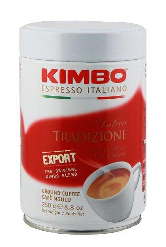 2 Cans of Kimbo Antica Tradizione Ground Coffee 8.8oz/250g