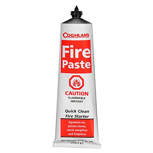 Coghlan's Fire Paste Survival Camping Fire Starters Odorless 3.75oz (2 Pack)