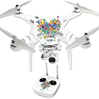 Skin For DJI Phantom 3 Professional – Wildheart | MightySkins Protective, Durable, and Unique Vinyl Decal wrap cover | Easy To Apply, Remove, and Change Styles | Made in the USA